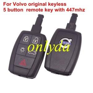 For Volvo original keyless 5b 447mhz