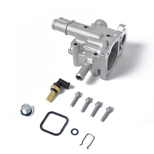 Thermostat Housing Cover with Coolant Temperature Sensor Wholesale Price at BAJUTU for Chevy OE:96817255 Ebay,Wish Hot Seller