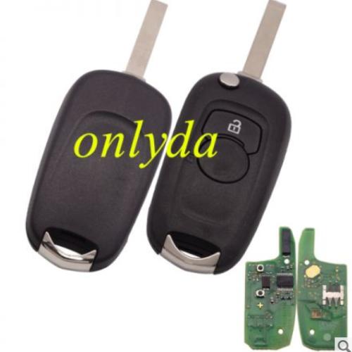 for original opel Astra K 2015-2017 2B remote PCF7961E HITAG2 chip-434mhz