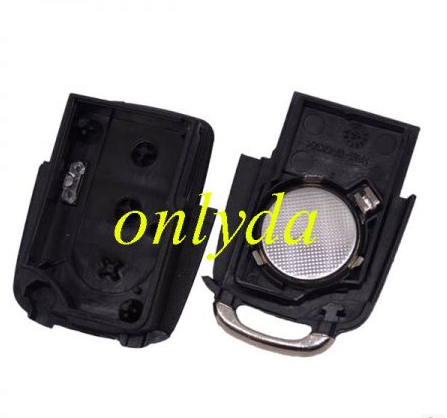 For VW modified gol 3 button Remote key with  trunk function  (with chip inside)---it add the trunk function automaticly