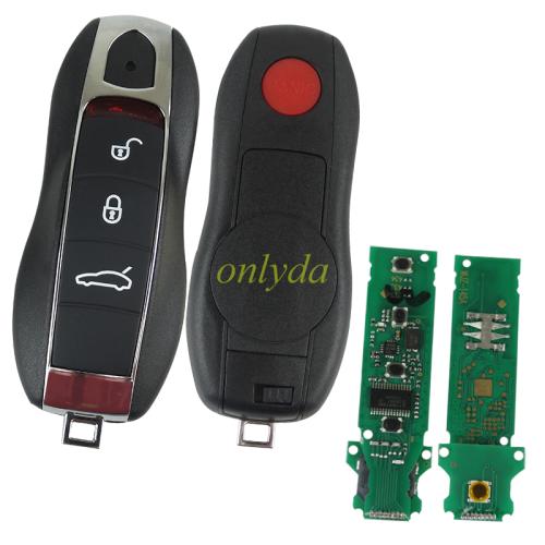 Porsche 3+1 remote key  keyless   with 434mhz