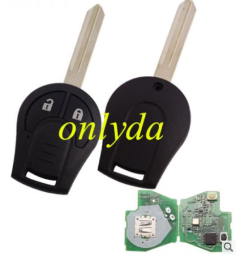 For original Nissan 2 button remote key with 315mhz