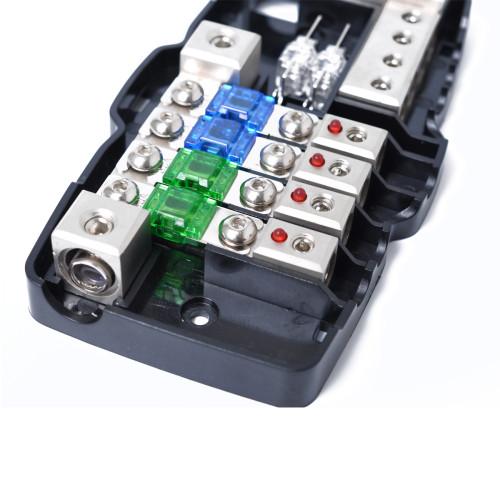 Multi-functional LED Mini ANL Fuse Box Car Audio Stereo Wholesale Price  Shopify Amazon Ebay Wish Hot Seller