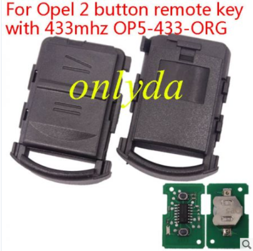 For Opel Corsa C 2B remote 434mhz OP5-434-ORG
