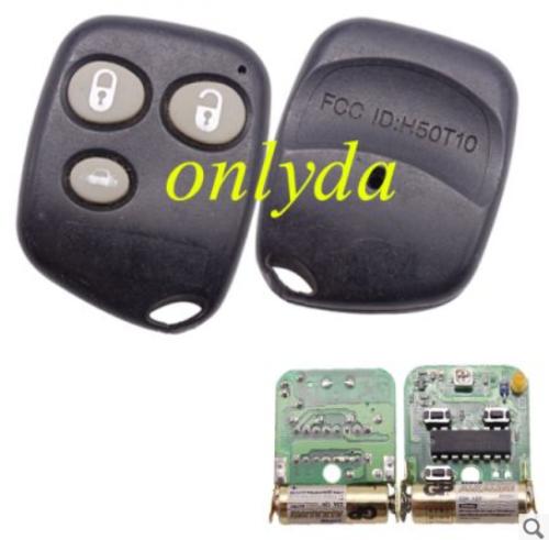 For original Nissan 3 button remote key FCCID:H50T10