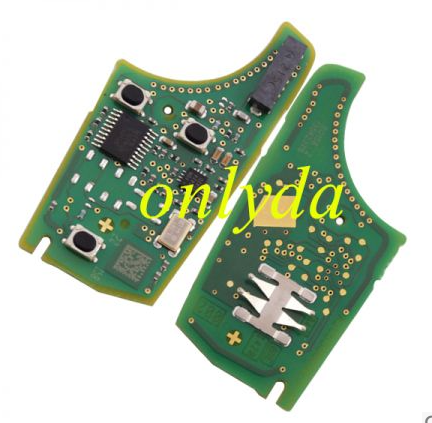 for original Vauxhall 2+1 button remote key with 434mhz 5WK50079 95507070 chip GM(HITA G2)