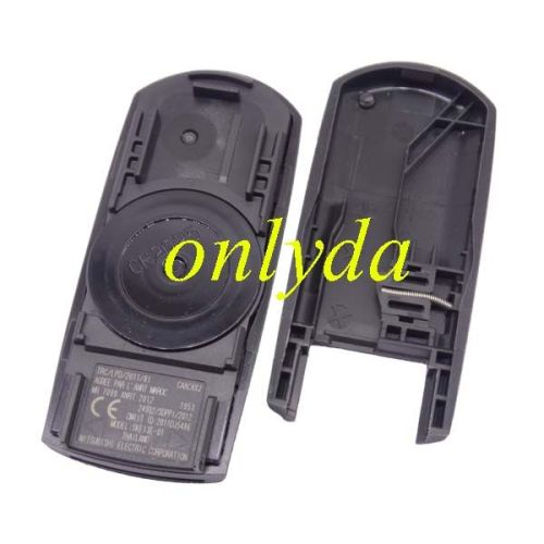 For Mazda original 4button remote key with 315mhz/433mhz