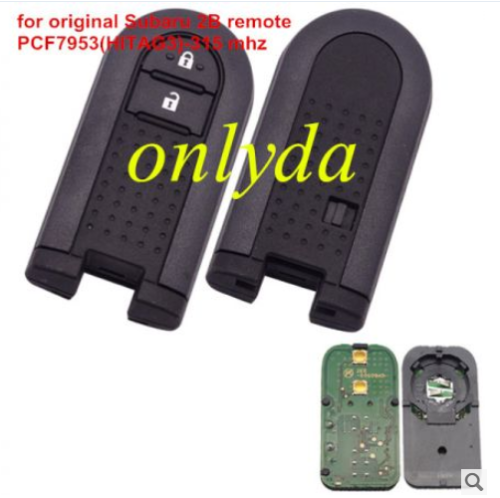 For Subaru 2B remote with 315 mhz PCF7953(HITAG3)chip