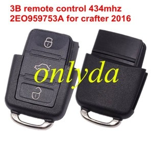 3B remote control 2EO959753A for crafter 2016