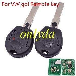 For VW gol Remote key