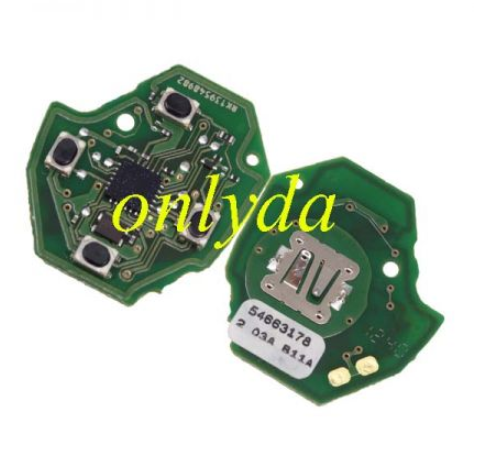 For Subaru 3 button remote with 315 mhz without chip.the remote PCB is original