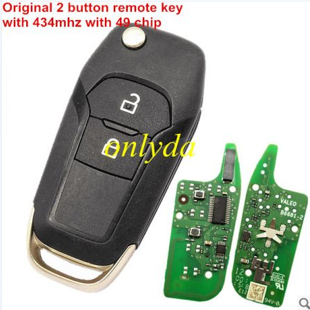 Original 2button remote with 434mhz with 49 chip