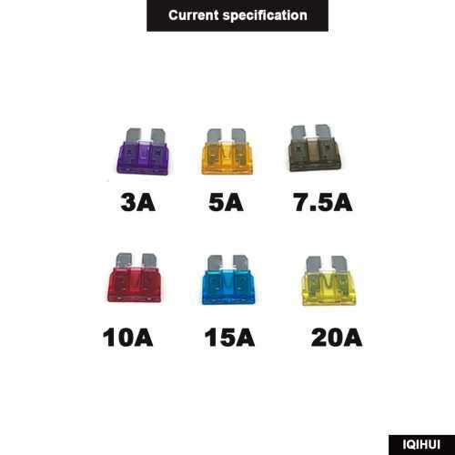 14 Pack 12V  Fuse Adapter Blade GPS Navigator Cigarette lighter added Tool kits-Wholesale Price Ebay,Wish Hot Seller