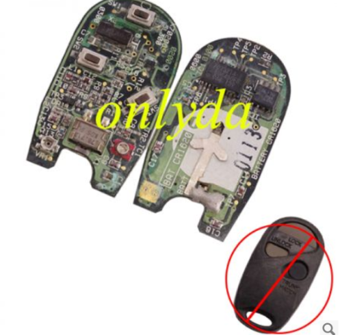 For original Nissan 3 button remote key with 315mhz PCB only