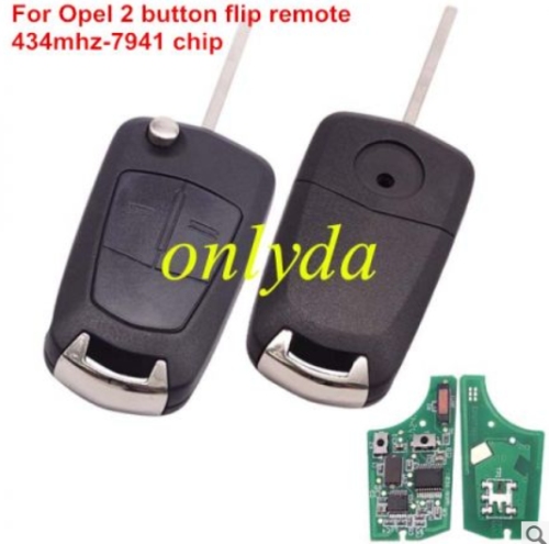 For OPEL VAUXHALL and ASTRA H Opel remote 434mhz -7941 chip
