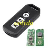 motor 3 button smart remote KYDZ for K77 SH VN FSK 433MHZ 47 chip