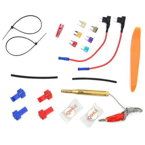 10 Pack 12V  Fuse Adapter Blade GPS Navigator Cigarette lighter added Tool kits-Wholesale Price Ebay,Wish Hot Seller