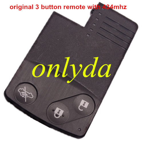 Original 3 button remote key with 434mhz