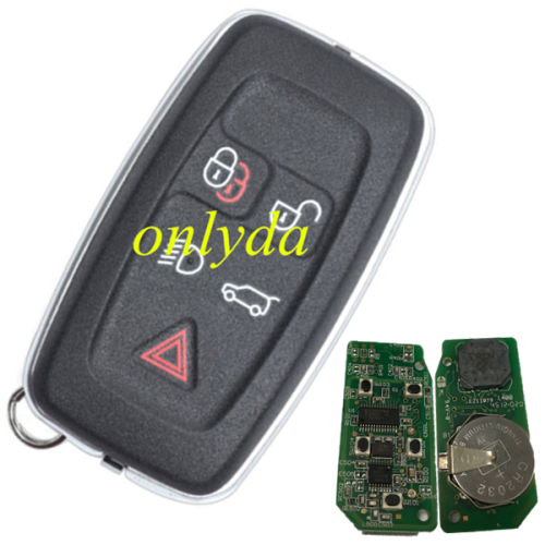 For Range Rover keyless 5B remote key with 315mhz/434mhz