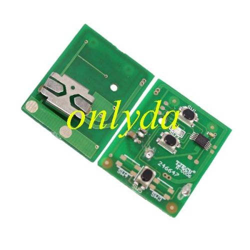 For Mazda 5 series 2 button remote key with 433mhz