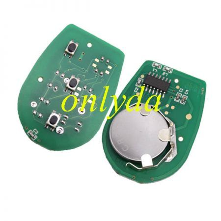 Toyota 2+1 button remote key with 315mhz