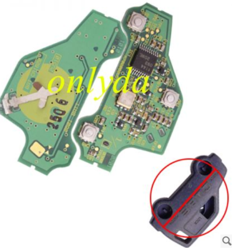 For original Nissan 3 button remote key PCB only
