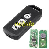 motor 3 button smart remote KYDZ for K96 K97 FSK 433MHZ 47 chip PCX 2018-2019 thailand