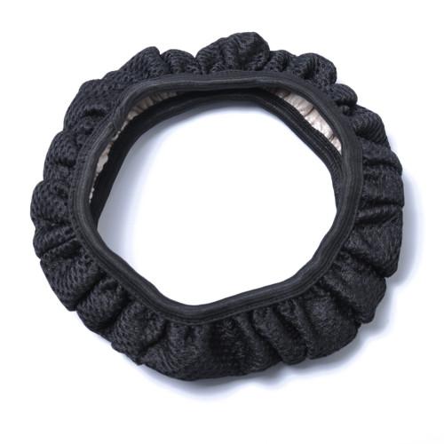 38CM Breathable Anti-slip Handbrake Car Auto Steering Wheel Cover Cars Steering Black Seel Wholesale Price