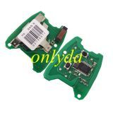 For peugeot 307; 2 button remote key with PCF7961 46 chip