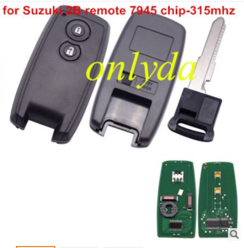 For SUZUKI SX4 Grand Vitara Swift SMART KEY 315mhz with 7945 chip