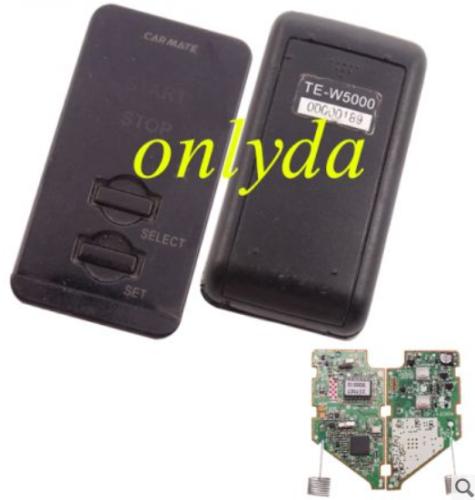 For original Nissan 2 button remote key TEW5000, 00000189