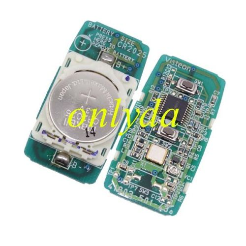 For Mazda 6 series button remote with 315mhz before 2008 year