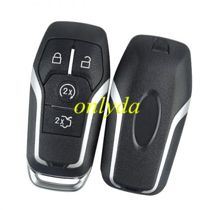 keyless 4 button aftermarket remote key with 433mhzHITAG PRO