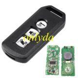 motor 3 button smart remote KYDZ for K01 2016-2017 SH150 PCX FSK 433MHZ 47 chip