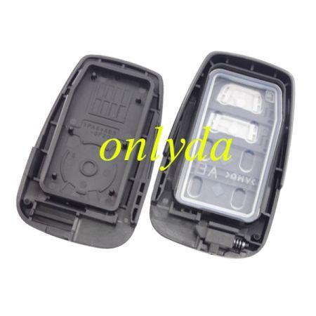 For original Toyota CH-R 2 B remote Toyota H chip-434mhz 61E206-0010