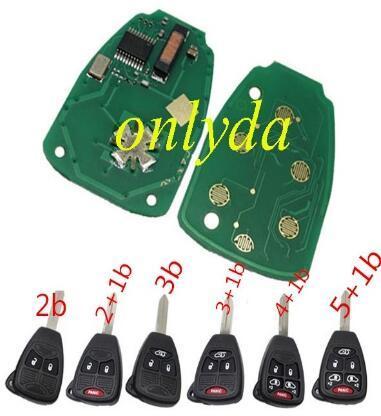 For Chrysler remote key 46 Chip OHT692427AA 315Mhz