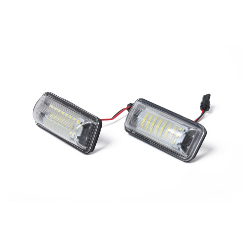 2 x LED License Plate Lamp with Licence frame-Wholesale Price  for Toyota 86 Subaru OE:84912FG110 Ebay,Wish Hot Seller