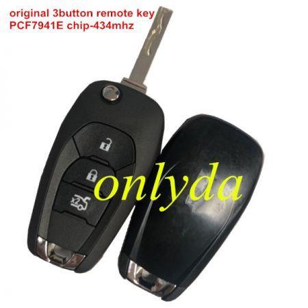 original 3 button remote key PCF7941E chip-434mhz