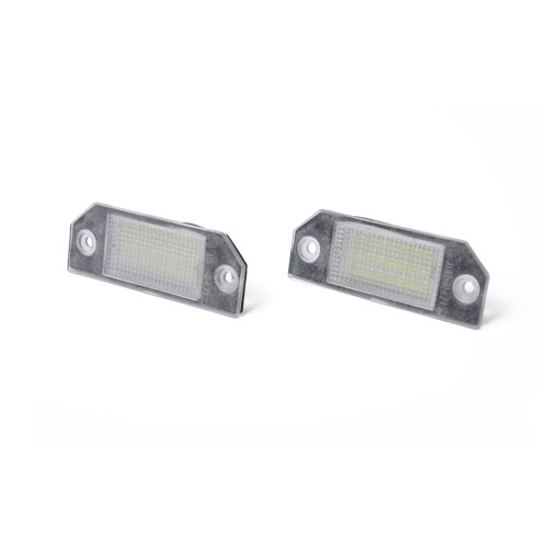 2 x New LED License Plate Light Lamp Wholesale Price  for Ford Focus MK2 OE:4052331 Amazon,Ebay,Wish Hot Seller