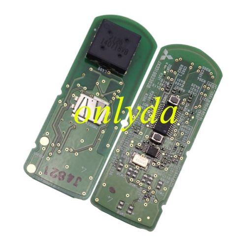 For Mazda Original 2 button keyless smart remote key with 315/433mhz with hitag pro 49 chip