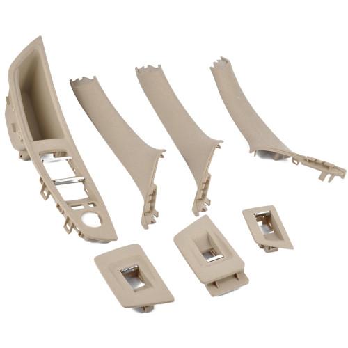 7Pcs Beige Inner Door Handle-Wholesale Price for BMW 5 Series OE:51417225875 51417225892/Shopify,Amazon Hot Seller