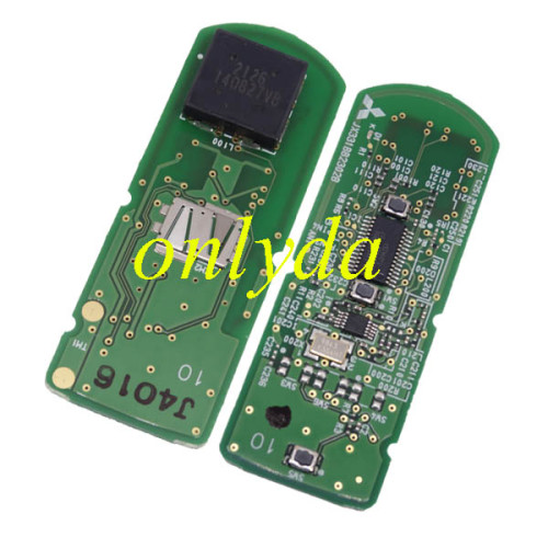 For Mazda 3button keyless Smart remote key with 433mhz -hitag pro 49 chip