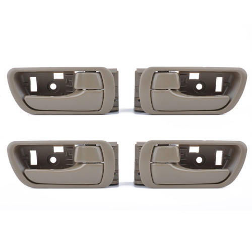 2Pairs Beige Inside Interior Door Handles-Wholesale Price  for Toyota OE:69205-33040/Shopify,Amazon,Ebay Hot Seller