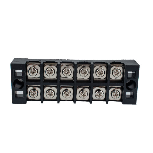 6 Positions Dual Row Screw Terminal Strip Block-Wholesale Price for Rv Boat  /Shopify,Amazon,Ebay,Wish Hot Seller