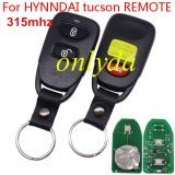 For HYNNDAI 2+1 tucson REMOTE with 315mhz/433mhz