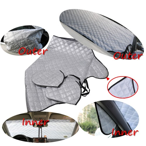 Car Front Windshield Snow Cover-Wholesale Price    for General Purpose Vehicles/Shopify,Amazon,Ebay,Wish Hot Seller