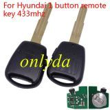 For KIA 1 button remote key with 433mhz