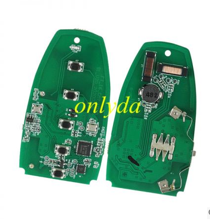 4 button keyless remote key with 868mhz HS7T-15K601-CB A2C93142400 for Ford F-Series 2015-2017