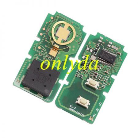 For Original Toyota 2B remote 4D chip-314mhz 2026 140429VH