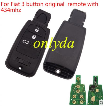 For original Fiat 3 button remote with 434mhz